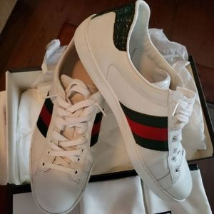 Gucci Ace Sneakers Size 9 Euro/10 US